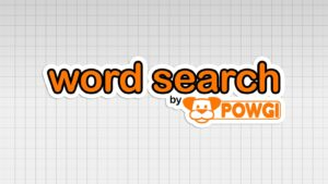 Word Search By POWGI Intro Pic