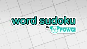 Word Sudoku Image